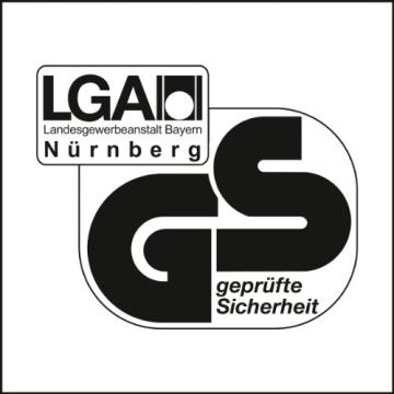 Topstar OP290UG20 Syncro-Bandscheiben-Drehstuhl Open Point SY Deluxe inklusive Armlehnen/Stoffbezug, schwarz - 6