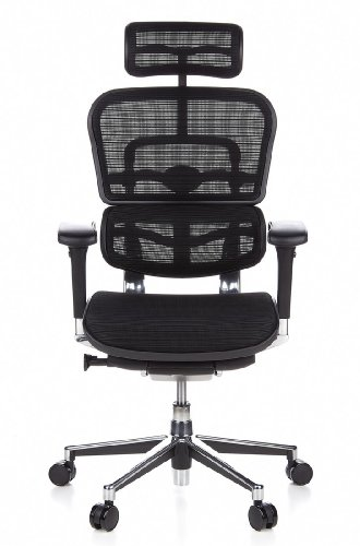 Chefsessel stoff  HJH Office 652111 Bürostuhl / Chefsessel Ergohuman Netz-Stoff ...