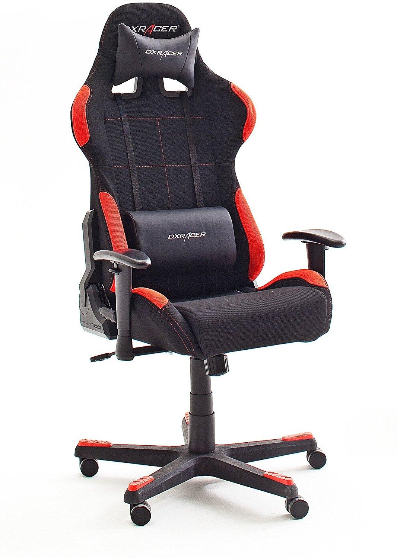 robas lund dx racer 1 gamingstuhl ergonomischer b. Black Bedroom Furniture Sets. Home Design Ideas