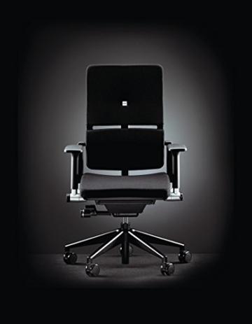 Steelcase Please ergonomischer Chefsessel - mit zweigeteilter Rückenlehne - Bürostuhl + 4in1 Kugelschreiber - 2