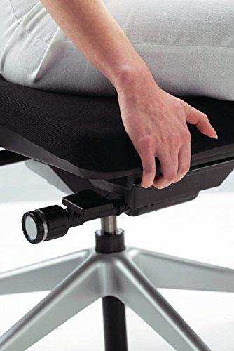 Steelcase Please ergonomischer Chefsessel - mit zweigeteilter Rückenlehne - Bürostuhl + 4in1 Kugelschreiber - 4