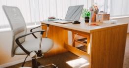 Richtige Körperhaltung ergonomischer Bürostuhl