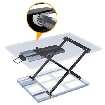Höhenverstellbarer Schreibtisch als Aufsatz von 1home